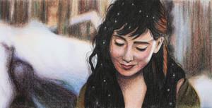 Lily Collins by SandraSaar