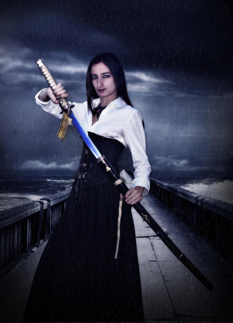 Lady Warrior by SusanaDS-Stocks
