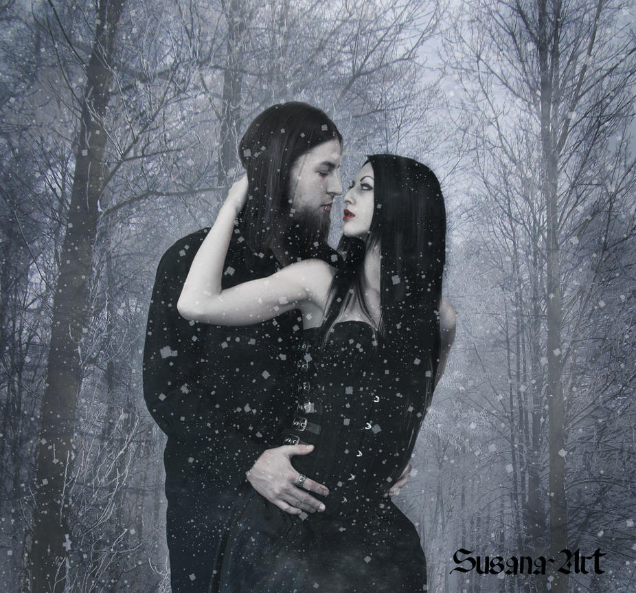 Winter Lovers by SusanaDS-Stocks
