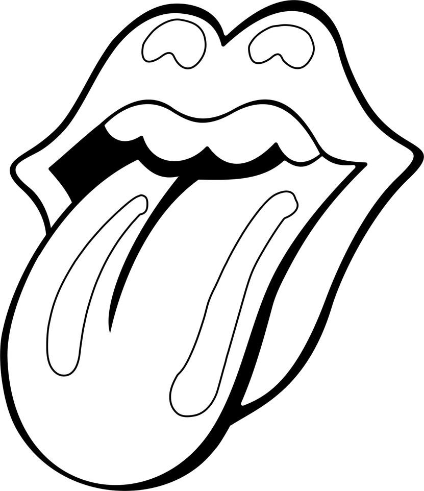 rolling stone mouth contour by natmiki on deviantart