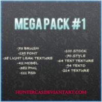 Mega Pack #1 by HunterCas