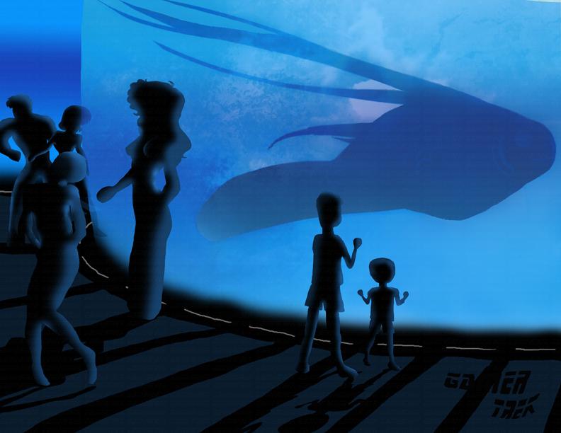Silhouette Aquarium 001 by GameTrek