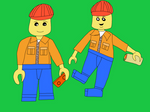 Lego Work Men