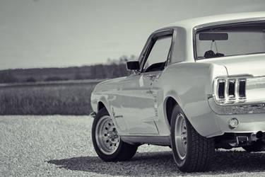67 Mustang BW 2 by frobocop