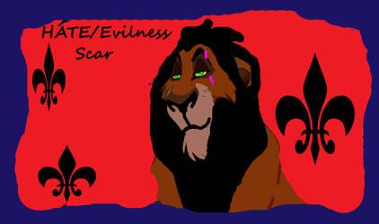 Scar Hate - Evilness
