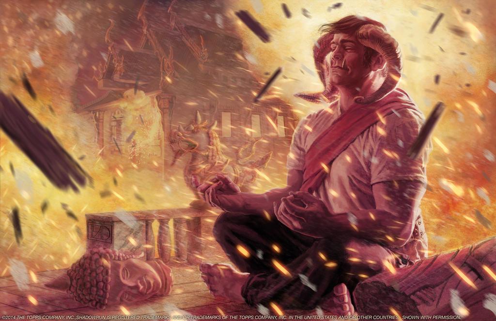 Shadowrun: Buddhist Troll