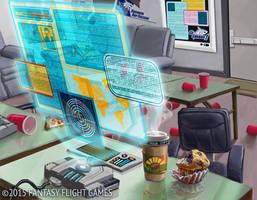 Netrunner: Dorm Computer by LucasDurham
