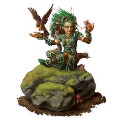 Pathfinder Sample: Lini The Druid by LucasDurham