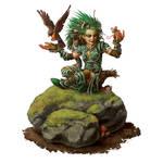 Pathfinder Sample: Lini The Druid