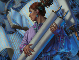 Mage Scholar by LucasDurham