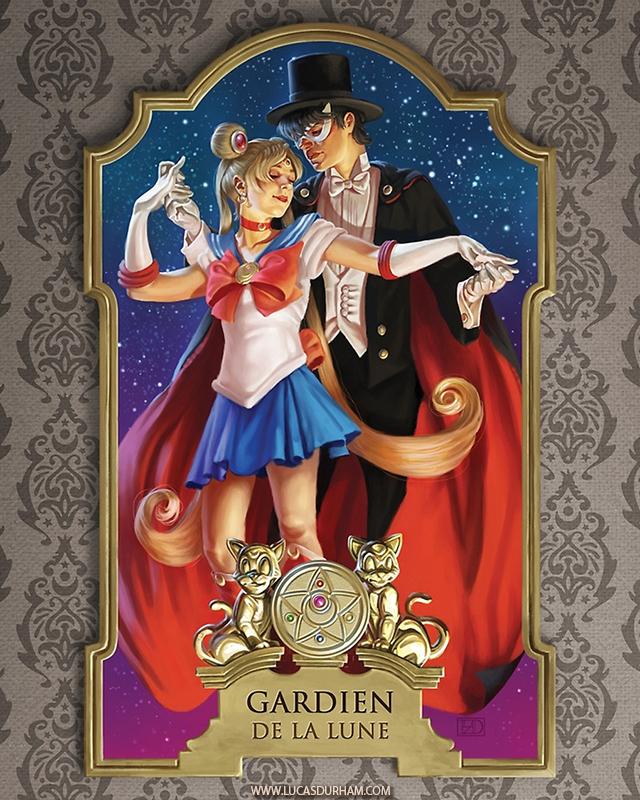 Sailor Moon After Leyendecker