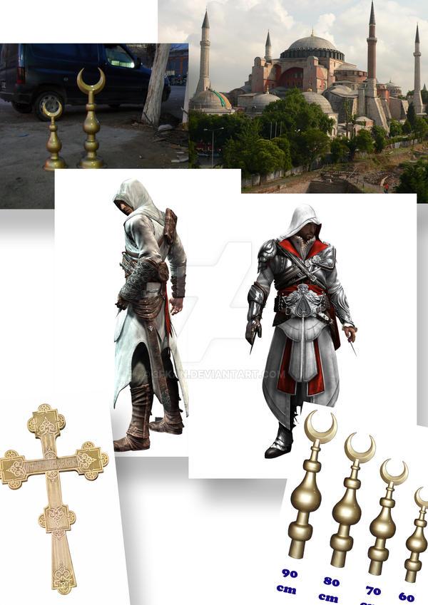 Processing steps Assassin's Cr by 3fkan on DeviantArt