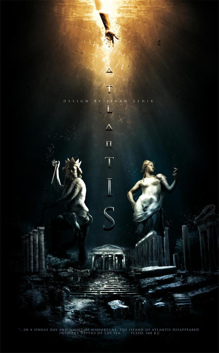 Poster design deviantart - 3fkan 0 0 Atlantis Movie Poster Design By Efkan Zehir By 3fkan