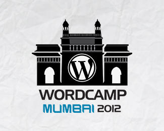 WordCamp Mumbai 2012 logo design