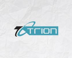 Trion logo design