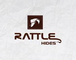 Rattle Hides logo design