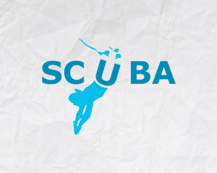 Scuba logo design by Dzire2Dzine