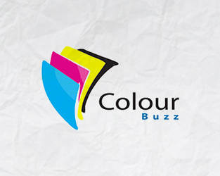 Colour Buzz logo design by Dzire2Dzine