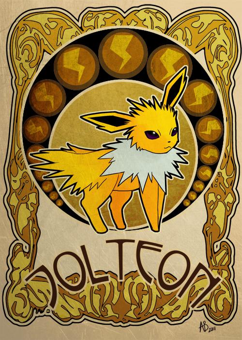 Jolteon by astropunch on deviantart for Revue art et decoration