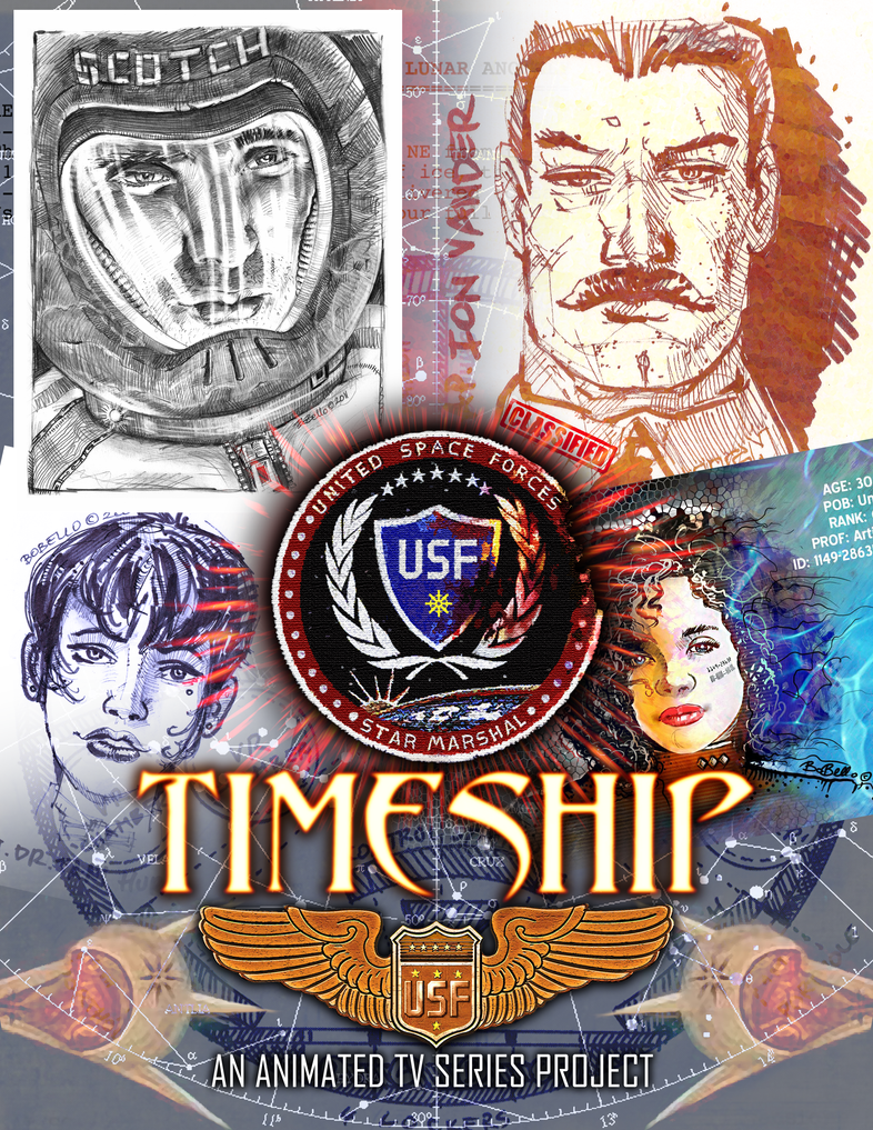 Timeship Anime Project by Timeship