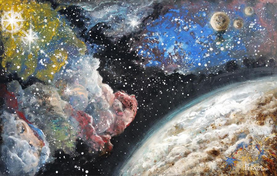 Red Hog Nebula by Timeship