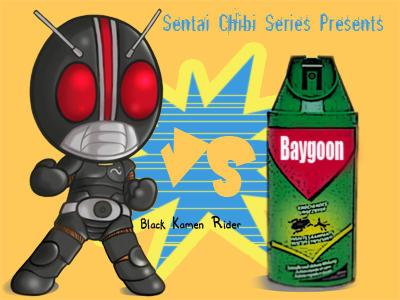 sentai chibi 2: kamen black by yohaneko
