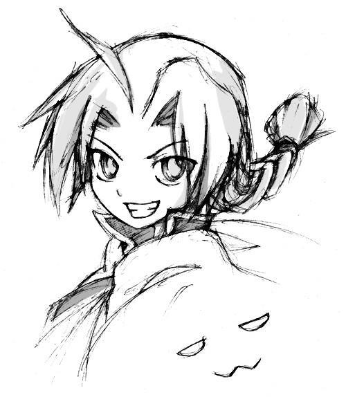 edness doodle by yohaneko
