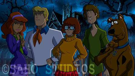 Mystery Incorporated - Scene by sahostudios