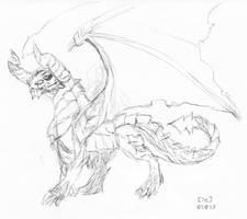 Dragon by DDRKirbyISQ