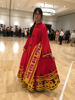 Journey Cosplay at the Ball