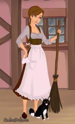 (Old) AoT OC: Tavern worker, Marion Freud