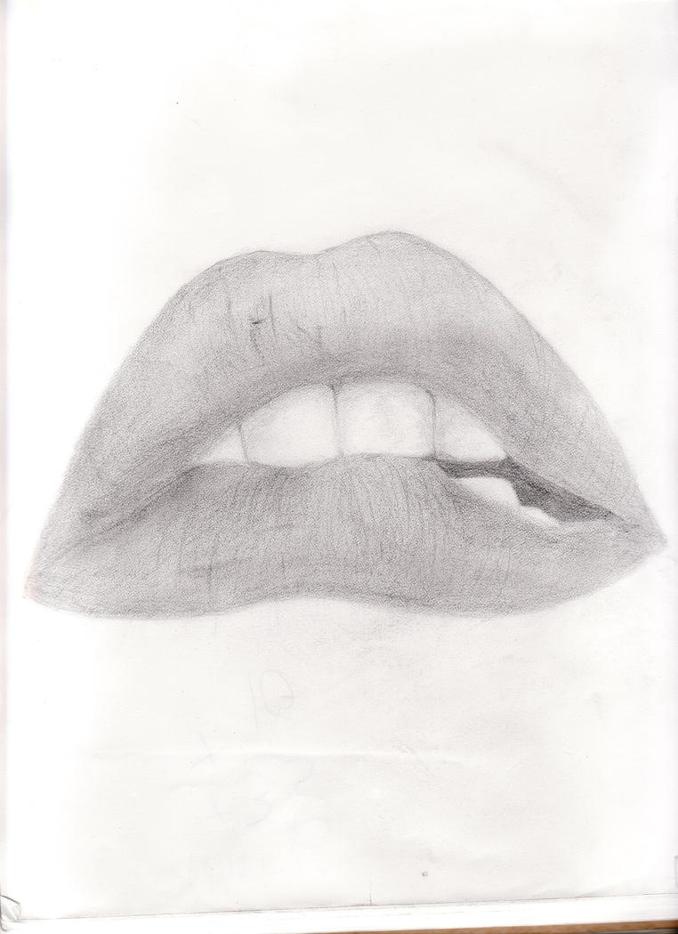 Rocky Horror Picture Show Lips Black And White