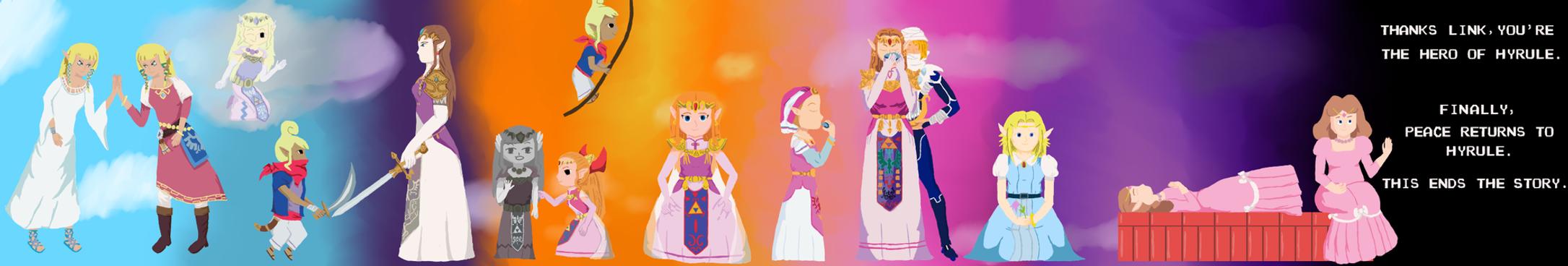 The Legend of Zelda 25th Anniversary by RadiantFuture
