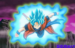 Xeno Goku - SSGSS by SD8bit