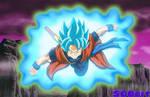 Xeno Goku - SSGSS