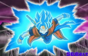 Xeno Goku - SSGSS V2 by SD8bit
