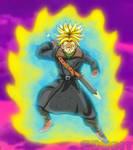 Time Patrol Trunks - Super Saiyan Rage