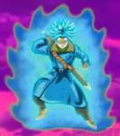 Time Patrol Trunks - Super Saiyan Blue
