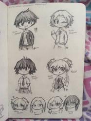 Some Assassination Classroom Sketches sksksksk