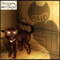 Scaredy Cat by GreenGhostlyJekyll