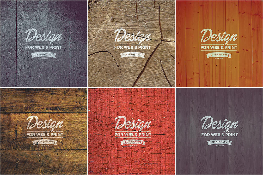 Free Vintage Logo Mockup on Wood PSD by gothic-crimson