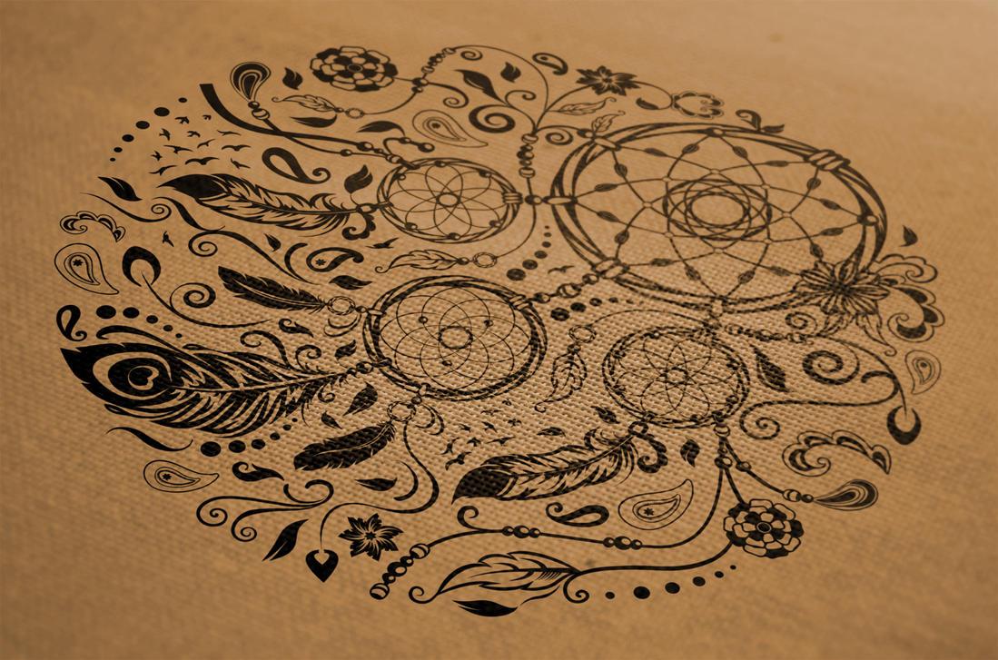 Dreamcatcher Decorative Symbol by gothic-crimson