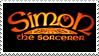 Simon the Sorcerer - Stamp by CapraScriba