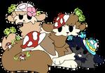 Mushroom gang!