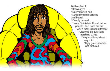 Nathan Brazil by Mogwai-toejam