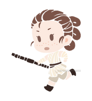 Little Rey by Kata-elf