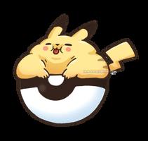 Pikachub by Kata-elf