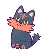 Smol litten by Kata-elf