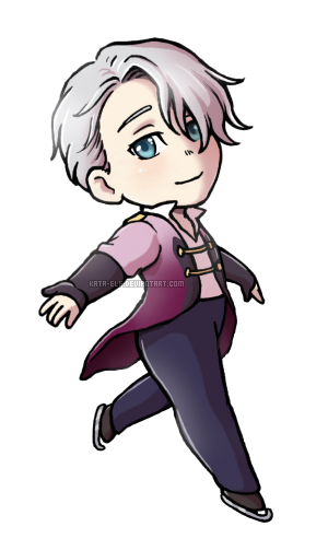 Victor chibi by Kata-elf