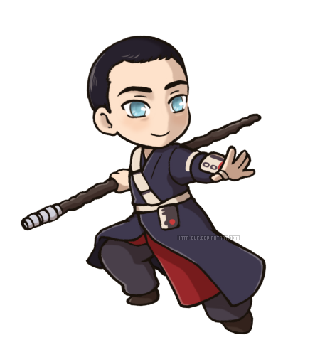 Chirrut by Kata-elf